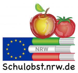 Schulobst-Logo, Quelle: Ministerium für Klimaschutz, Umwelt, Landwirtschaft, Natur- und Verbraucherschutz des Landes Nordrhein-Westfalen